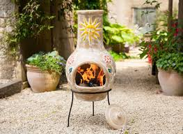Paint For Chiminea Ceramic Chiminea Outdoor Fireplace Fireplace Ideas