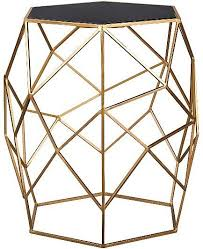 Asda Side Table Glass Top Geometric Side Table George At Asda Home Interior