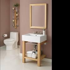 vessel sinks console sink for small bathroom art deco semi