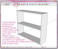 google sketch up basics ana white woodworking projects