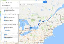 Algonquin Map Send A Custom Route On Google Maps To Your Phone