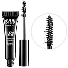 most loved brow s make up for ever brow seal transpa eyebrow gel