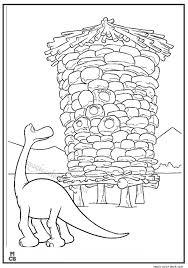 good dinosaur coloring pages arlo