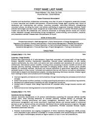 Sample Resume Operations Manager by Download Pensions Administration Sample Resume