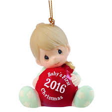 precious moments baby boys dated ornament new 2016