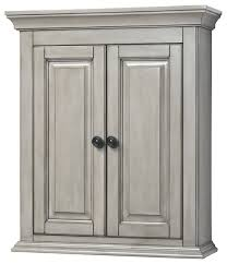 Foremost Bathroom Vanities by Corsicana Wall Cabinet Antique Gray 24