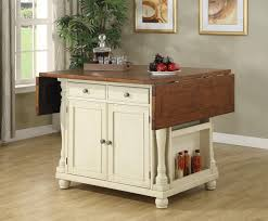 Island Bedroom Furniture by Coaster Fine Furniture 102271 Kitchen Island With Drop Leaves