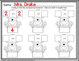 crayons u0026 cuties in kindergarten composing numbers why not