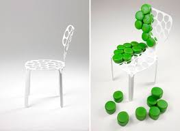 squeeze your own upholstery into the bone chair technabob