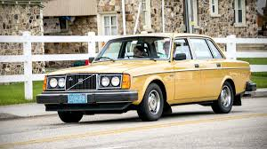 classic volvo sedan volvo 240 turns 40 autoweek