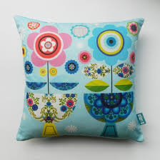 Home Decor Cushions Vintage Fabric And Paper Cut Cushions By Ellen Giggenbach
