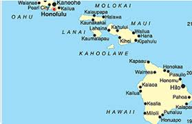map of hawaii cities top ten budget travel tips to hawaii by cheapoair
