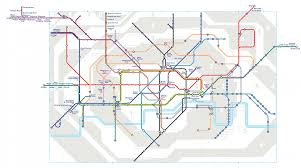 map of the underground in geographically accurate and 3d underground maps