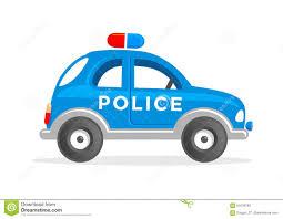 cartoon toy police car vector illustration stock vector image