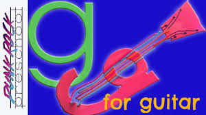 letter g for guitar fun preschool crafts for kids best