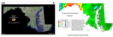 me a map of maryland cocorahs community collaborative hail