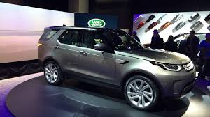 land rover discovery 4 2016 2017 land rover discovery 3 row luxury suv at the 2016 paris motor