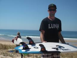 knubster fin new lunasurf release a futures fin as thruster and tri