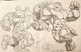 iron man hulkbuster vs hulk lionel ordaz in thomas suhling u0027s