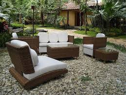 Patio Furniture Design Ideas Wonderful Outdoor Porch Furniture With Rattan On Pabble And