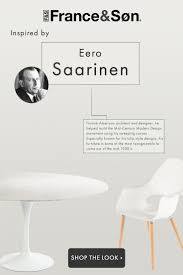 101 best designer focus eero saarinen images on pinterest side