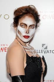 10 Amazing Heidi Klum Halloween Costumes Copy Jennifer Lopez Heidi Klum U0027s Halloween U2014 Party Makeup Skull