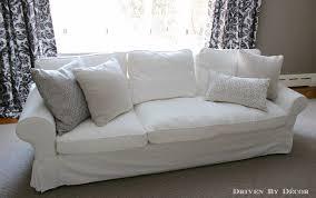 Ikea Ektorp Sleeper Sofa by How We Supersized Our Ikea Ektorp Sofa Driven By Decor