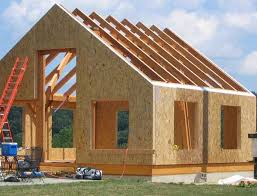 sips cabin simple timber frame using sips construction sites pinterest