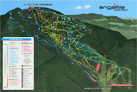 New Mexico Ski Resorts Map by Angel Fire Bike Park At Angel Fire Resort