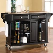 solid wood kitchen island cart best kitchen island cart solid hardwood top black wooden bar stool