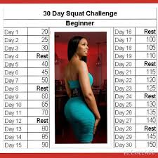 Challenge Works Jj Smith Ok The 30 Day Squat Challenge Works Alot Of