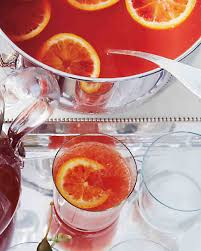 champagne cocktail recipes for a bridal shower martha stewart
