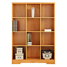 Magellan Office Furniture by Realspace Magellan 12 Cube Bookcase 63 916 H X 46 110 W X 15 58 D