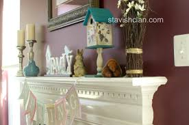 decoration beige fireplace mantel decor ideas with mirror frame