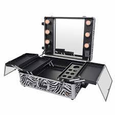 professional makeup station studio to go makeup with light pro makeup station zebra