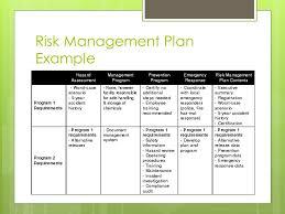 risk management plan template risk management plan template 1