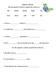 2nd grade vocabulary worksheets free worksheets library download