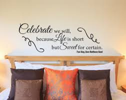 Quote Decals For Bedroom Walls Bedroom Wall Quote Etsy