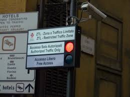 Guide To Driving In Italy by The Ztl In Florence Restricted Traffic Zone In Florence
