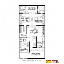 stunning house plan for 30 45 plot plot size 150 square