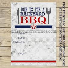 bbq cookout invitation free printable from lil u0027 sprout greetings