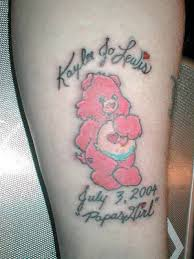 memorable care bear tattoo design tattooshunt com