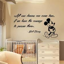 wall ideas mickey mouse vinyl wall art image of mickey mouse mickey mouse wall decals quote dreams art vinyl sticker kids nursery decor kk262 decalhouse mickey mouse