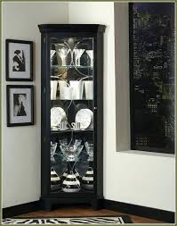 corner china cabinet ashley furniture black china cabinet sideboards stunning black china cabinet hutch