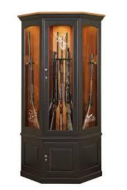 amish gun cabinets oak cherry maple gun cabinets