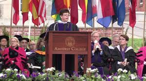 president martin amherst college commencement 2017 youtube