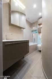 la cuisine dans le bain création d une salle de bains gain de place et design sk