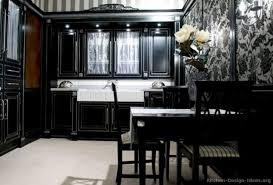 kitchen ideas with black cabinets 20 attractive black and white kitchen cabinet ideas teracee