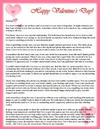 romantic love letters samples template examples