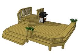 Wrap Around Deck Plans This Might Be A Good Basic Design For Our Deck Except We Need Two